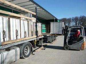 Im Sinne der Umwelt und der Wirtschaftlichkeit: Full loaded trucks only